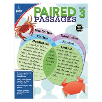Paired Passages Gr 3, CD-104888