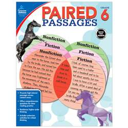 Paired Passages Gr 6, CD-104891