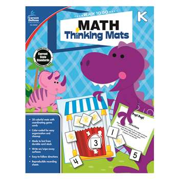 Math Thinking Mats Gr K, CD-104898