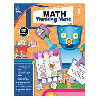 Math Thinking Mats Gr 1, CD-104899