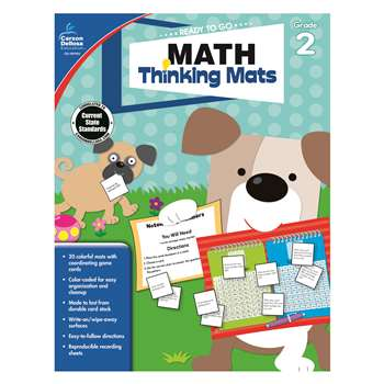 Math Thinking Mats Gr 2, CD-104900