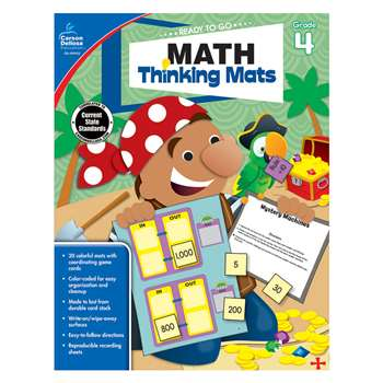 Math Thinking Mats Gr 4, CD-104902