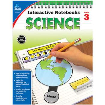 Interactive Notebooks Science Gr 3, CD-104907