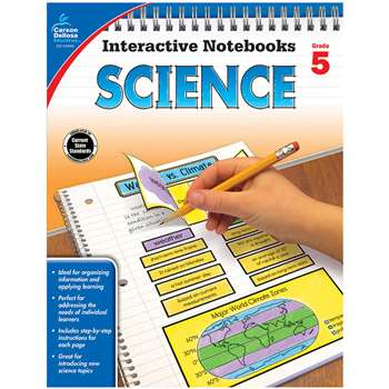 Interactive Notebooks Science Gr 5, CD-104909