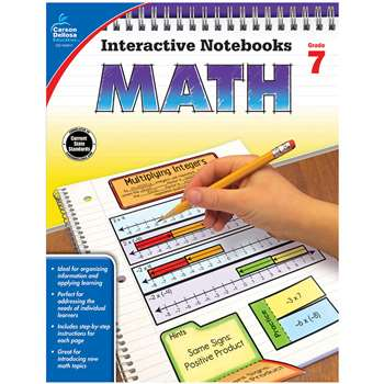 Interactive Notebooks Math Gr 7, CD-104911