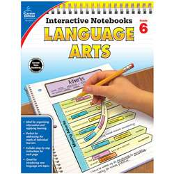 Interactive Notebooks Language Arts Gr 6, CD-104913