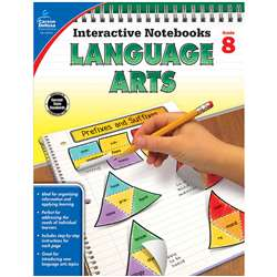 Interactive Notebooks Language Arts Gr 8, CD-104915