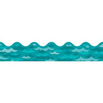 Waves Scalloped Border By Carson Dellosa