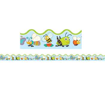 Shop Buggy For Bugs Border Scalloped - Cd-108185 By Carson Dellosa