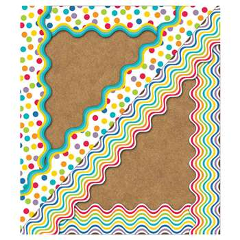 Shop Color Me Bright Border Scalloped - Cd-108186 By Carson Dellosa