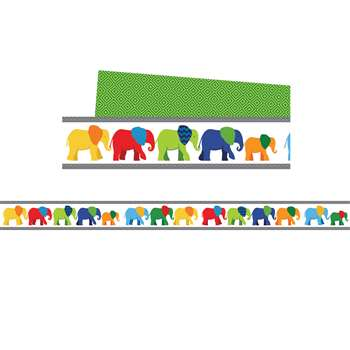 Elephant Borders Gr Pk-8, CD-108205