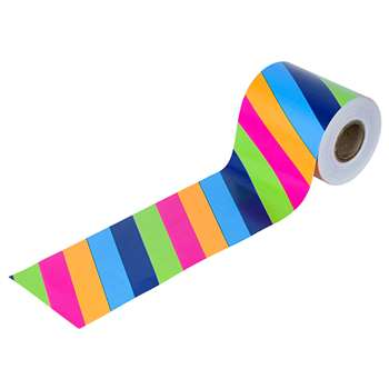 Colorful Stripes Straight Borders, CD-108217