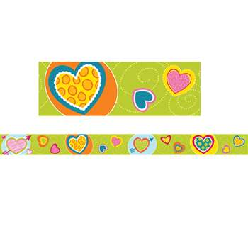 Hearts Straight Border, CD-108228