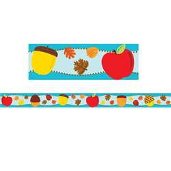 Apples & Acorns Straight Border, CD-108229