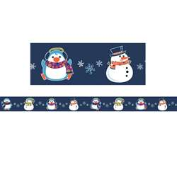 Winter Fun Straight Border, CD-108230