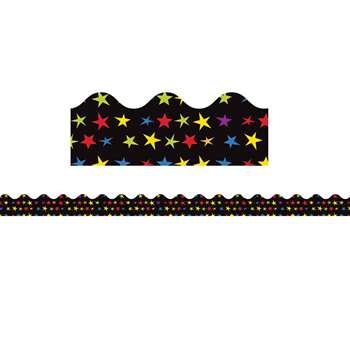 Super Power Super Stars Scalloped Borders, CD-108235