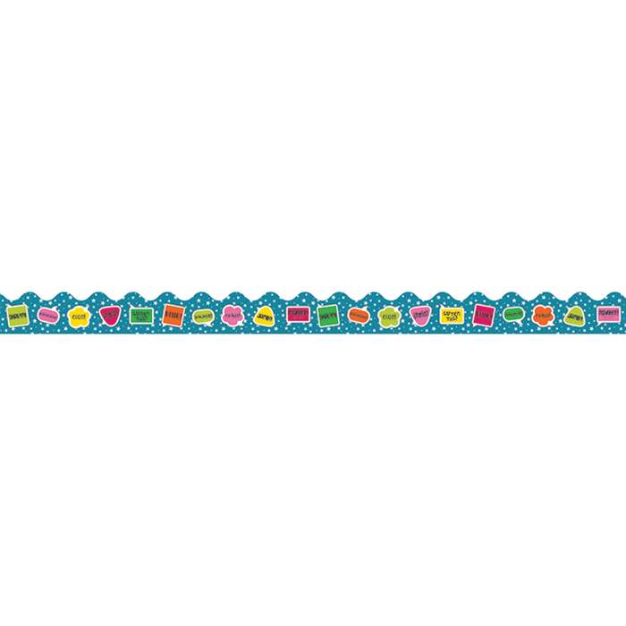 School Pop Hello Scalloped Border, CD-108253