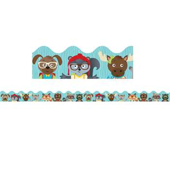 Hipster Pals Scalloped Borders, CD-108263