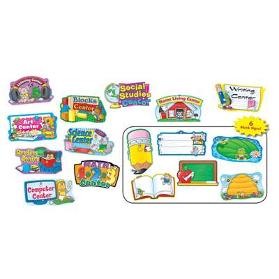 Center Signs Mini Bulletin Board Set 10 Ct By Carson Dellosa