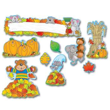 Fall Mini Bulletin Board Set By Carson Dellosa