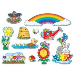 Spring Mini Bulletin Board Set By Carson Dellosa