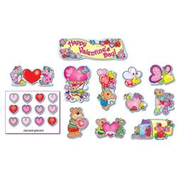 Valentines Day Mini Bulletin Board Set By Carson Dellosa