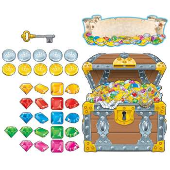 Big Treasure Chest Bulletin Board Set By Carson Dellosa
