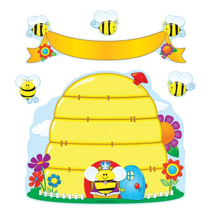 Busy Bees Bulletin Board Set By Carson Dellosa
