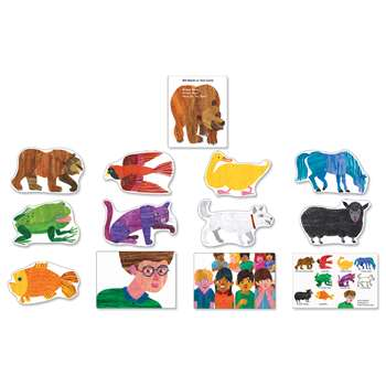Brown Bear Bulletin Board Set By Carson Dellosa