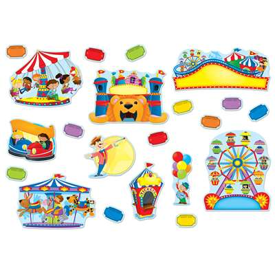 Carnival Fun Bulletin Board Set By Carson Dellosa