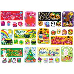 Holidays Bulletin Board Set By Carson Dellosa