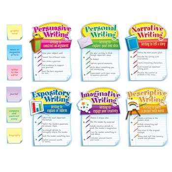 Writing Modes Bulletin Board Set By Carson Dellosa
