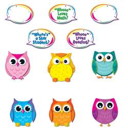 Colorful Owl Talkers By Carson Dellosa