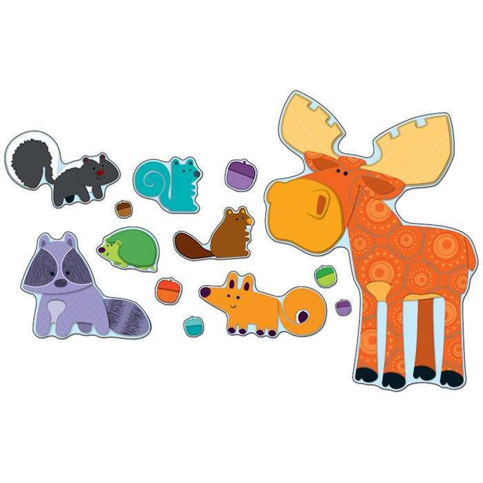 Moose & Friends Bulletin Board Set By Carson Dellosa