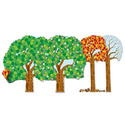 Big Seasonal Tree Bulletin Board Set By Carson Dellosa