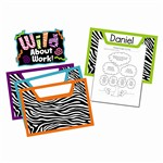 Wild Style Work Bulletin Board Set By Carson Dellosa