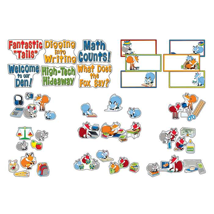 Playful Foxes Curriculum Signs Bb Set, CD-110276