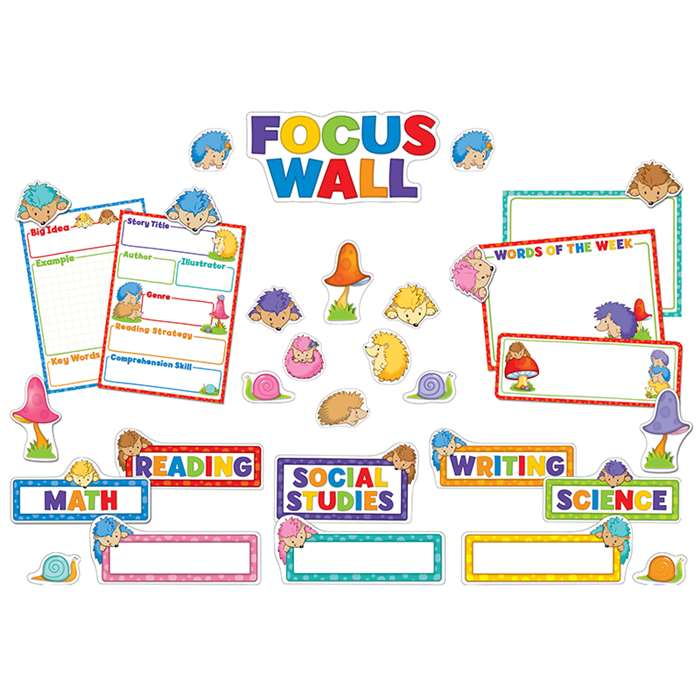 Happy Hedgehogs Focus Wall Bb Set, CD-110282