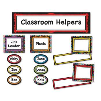 Colorful Chalkboard Classroom Management Bb Set, CD-110302