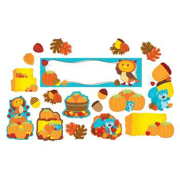 Fall Mini Bulletin Board Set, CD-110306