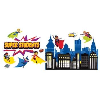 Super Power Super Kids Bulletin Board Set, CD-110310