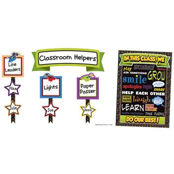 Super Power Classroom Management Bulletin Board Se, CD-110313