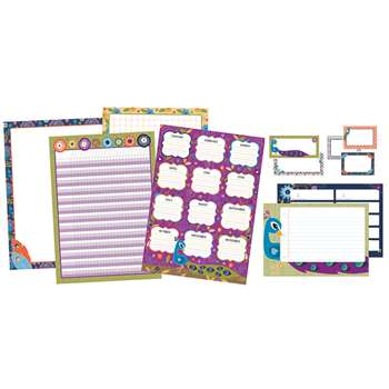 You-Nique Classroom Organizers Bulletin Board Set, CD-110320