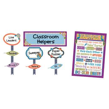 You-Nique Classroom Management Bulletin Board Set, CD-110321