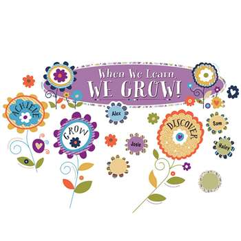 You-Nique When We Learn We Grow Bulletin Board Set, CD-110322