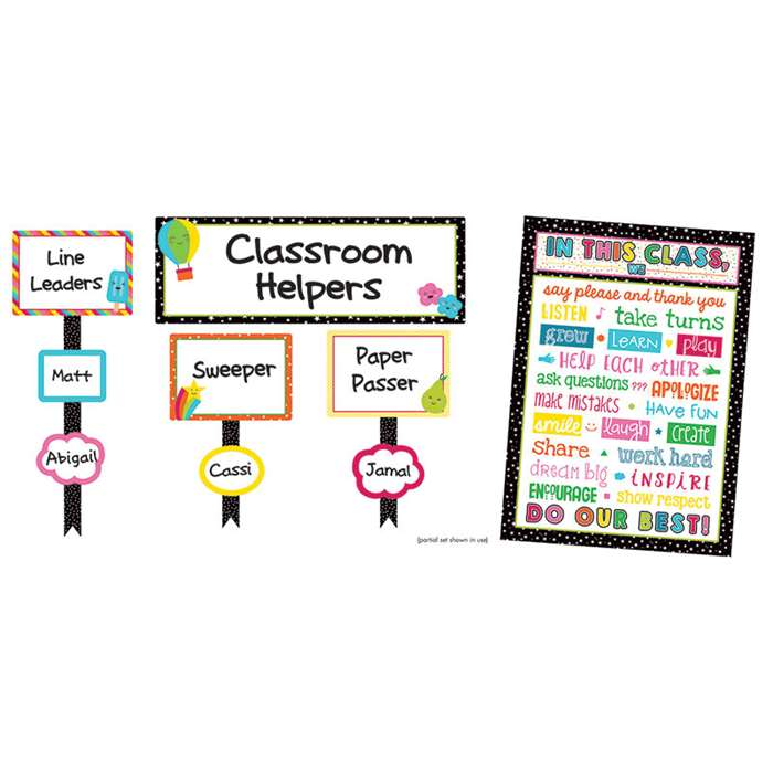 School Pop Classroom Management Bulletin Board Set, CD-110329