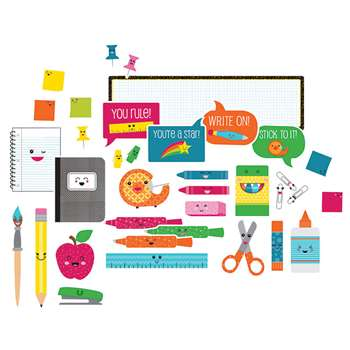 School Pop School Tools Bulletin Board Set, CD-110330