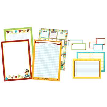 Hipster Classroom Organizers Bulletin Board Set, CD-110336