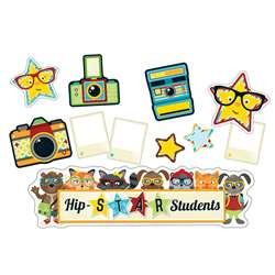 Hipster Hip-Star Students Bulletin Board Set, CD-110338