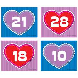 Shop Hearts Calendar Cover Ups - Cd-112553 By Carson Dellosa
